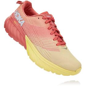 Hoka One One Mach 3 Shoes Women lantana/limelight